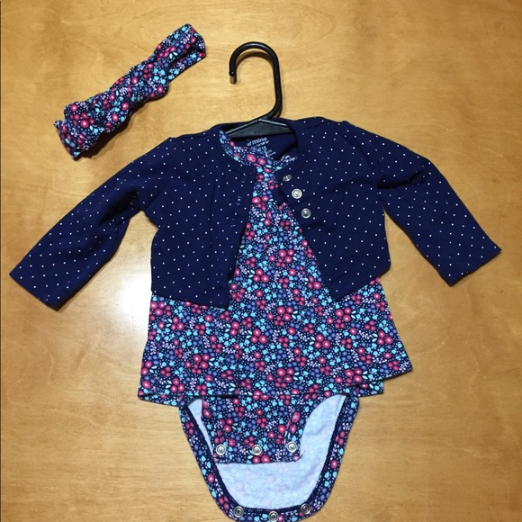 child of mine Other - 0-3 month dress, jacket, and headband